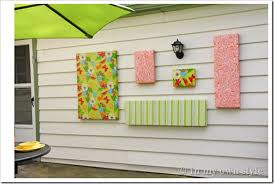 how to make outdoor wall art in my own style