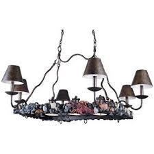 Nautical Island Lighting Hanging Island Light Pot Rack Triarch Bayside 6 3 31329 Bronze