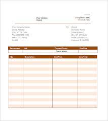 simple invoice template free google docs service invoice template