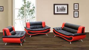 Red Sofa Set Red And Black Leather Sofa 28 With Red And Black Leather Sofa