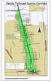 Map Of Houston Area Scenic Right Of Way Maps Www Houstonpermittingcenter Org