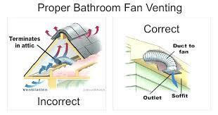 bathroom vents in attic u2013 easywash club