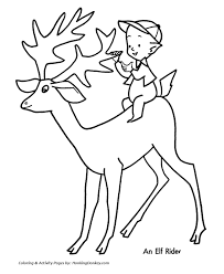 colouring pages reindeer 26 frosty images