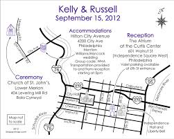 Map Of Philadelphia Airport Fun Wedding Maps U2014 Custom Map Design By Snappymap
