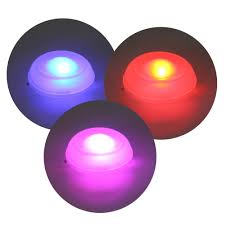 led multi colour changing spa relaxing bath lights for tub