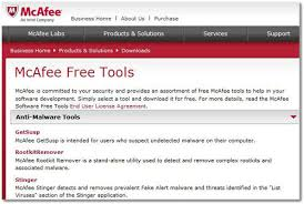 free anti virus tools freeware downloads and reviews from mcafee computer virus remover tools review