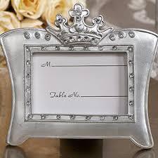 picture frame wedding favors sparkling tiara photo frame favor place card frames place card