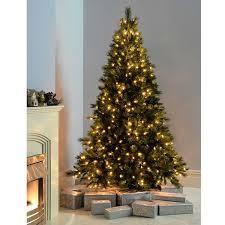 werchristmas pre lit victorian pine multi function christmas tree