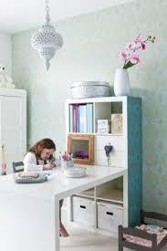 expedit bureau gepimpte ikea expedit met bureau voor jolijn home office ideas