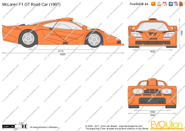 mclaren f1 drawing the blueprints com vector drawing mclaren f1 gt road car