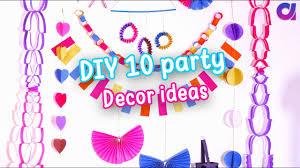 Party Decoration Ideas 10 Amazing Diy Easy Party Decorations Ideas Cute Decor