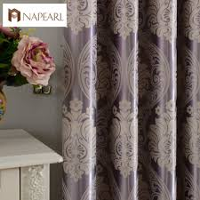 european jacquard curtains full blackout bedroom window cover