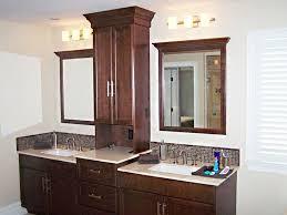 good bathroom vanities with towers double vanity with storage