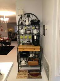 kitchen display ideas best 25 bakers rack kitchen ideas on bakers rack tea