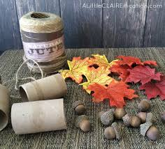diy thanksgiving acorn napkin rings crafts a