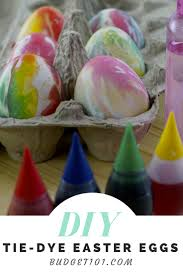 create super fun tie dye easter eggs with just 3 simple
