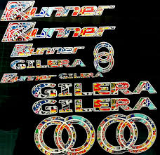 gilera runner decals stickers exclusive stickerbomb sp vx fx vxr