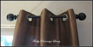 Curtains And Rods Thrifty Parsonage Living Secret To Inexpensive Curtain Rods