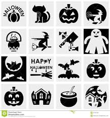 free halloween vector art halloween silhouette icons vector image 1483369 stockunlimited 6