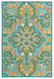 Yellow Outdoor Rug Morocco Outdoor Rug In Aqua For Sale Cottage Bungalow
