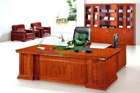 Wooden Home Office Furniture Wooden Home Office Desk Atken Me