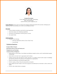 Administrative Assistant Resume Objectives Resume Objective For Administrative Position Example Resume