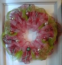 geo mesh wreath me and my crafties november 2012