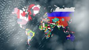america map zoom 3d wide flag world map zoom to america stock footage