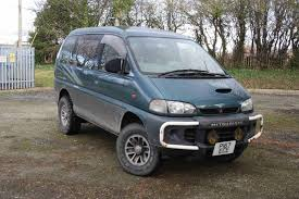 mitsubishi delica l400 road test review youtube