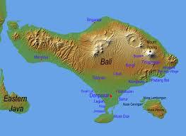 geography map bali tourism board about bali bali geography
