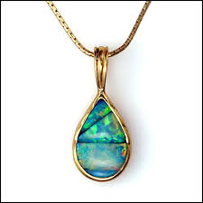 opal pendant necklace images 14kt gold lightning ridge black opal inlay pendant desantis jewelry jpg