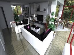 cuisine ouverte sur s our salon ikea salon salon 3d ikea amazing affordable cheap dco