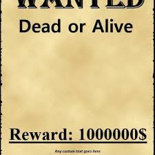 29 free wanted poster templates fbi and old west with wanted