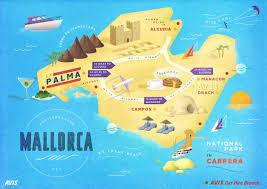 Menorca Spain Map by Spain Mallorca Traveller