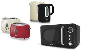 Kettle Toaster Akai Kettle Toaster And Microwave Groupon Goods