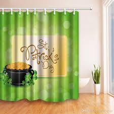180 best s day images st s day shower curtain 180 180cm green theme deisgn