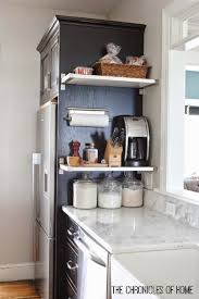 easy ideas to maximize vertical space in the kitchen grocery