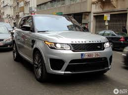 land rover silver land rover range rover sport svr 6 january 2017 autogespot