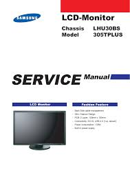 download free pdf for samsung syncmaster 225mw monitor manual