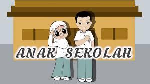film kartun anak sekolah animasi kartun anak sekolah kolek gambar