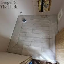 powder room leonia silver glazed porcelain tile floor