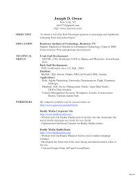resume sles free download fresher programmer contract template with web developer resume exle cv