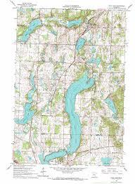 Map Mn Sauk Lake Topographic Map Mn Usgs Topo Quad 45094g8