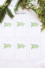 free christmas gift tag printable u0026 holiday cheer hiccup