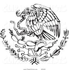 mexican eagle clipart clipartxtras