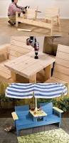 diy sandbox picnic table plan woodworking outdoor kids