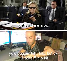 Hillary Clinton Sunglasses Meme - hillary clinton is a badass texting machine the ramos project