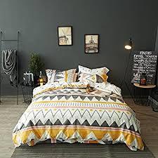 Tribal Pattern Comforter Amazon Com Modern Boho Tribal Bedding Aztec Stripe Print Cotton