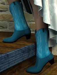 s boots 20 cowboy boots for genesis 2 s 3d models and 3d software