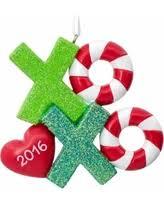 savings on hallmark santa ornament multicolor